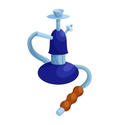 Turkish hookah icon cartoon style vector