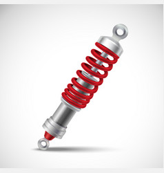 Shock absorber realistic vector