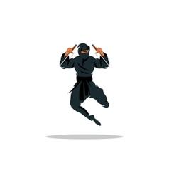 Asian ninja cartoon asia vector