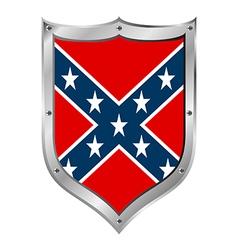 Confederate flag icon vector