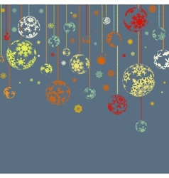 Design for xmas card background EPS 8 vector image vector image