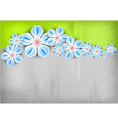 Spring background green vector