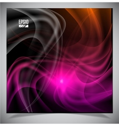 abstract energy formation vector image vector image