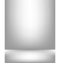 Gray studio backdrop Interior vector image