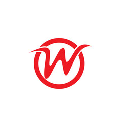 W letters logo and symbols vector