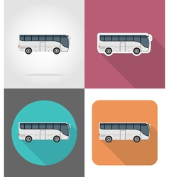Transport flat icons 41 vector