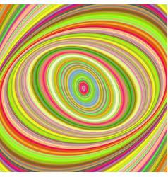 Colorful ellipse digital art background vector