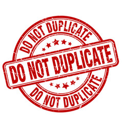 Do not duplicate vector