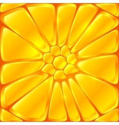 Golden yellow bricks seamless pattern tile vector