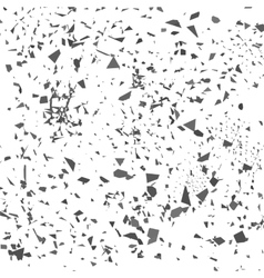 Grey Confetti Set of Particles vector image vector image