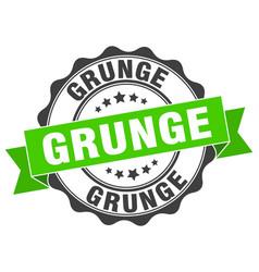 Grunge stamp sign seal vector