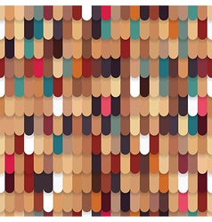 Roof Tile Seamless Pattern vector image