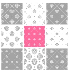 Victorian delicate wallpapers wedding backgrounds vector
