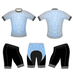 Abstract art pattern on sports t-shirt vector