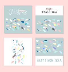 Artistic confetti seamless pattern with simple vector