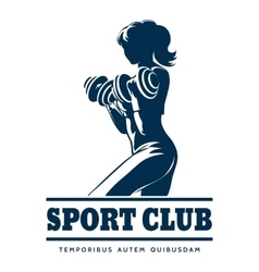 Athletic sport club emblem vector