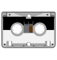 Audio cassette tape vector image