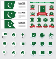 Set pakistan vector
