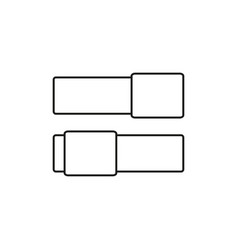 switch buttons icon vector image