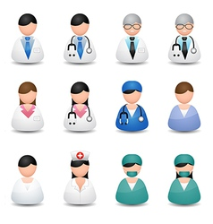 Medical people vector