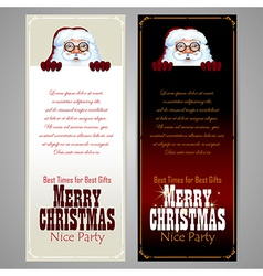 Christmas and new years design vector