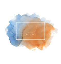 Hand painted watercolor texture vector
