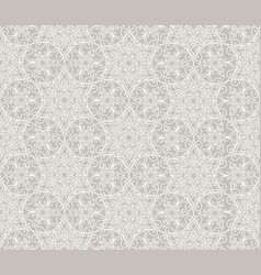 flourish mosaic tiled pattern floral oriental vector image vector image
