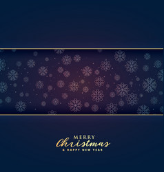 premium merry christmas background with text space vector image vector image