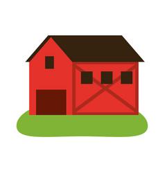 rural barn icon image vector image