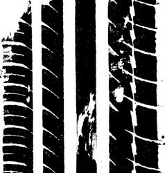 Tyre through water vector