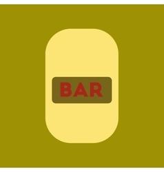 flat icon stylish background poker bar sign vector image vector image