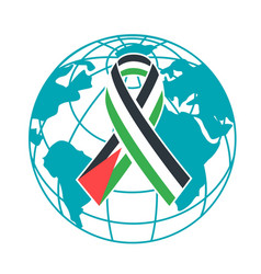 Icon international day of solidarity with the vector