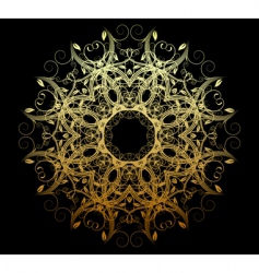 ornamental element vector image