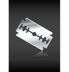 razor vector image vector image