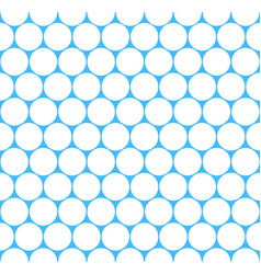 seamless pattern grid circular shapes vector image