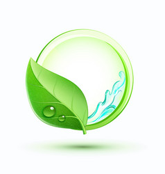 Green plant concept vector