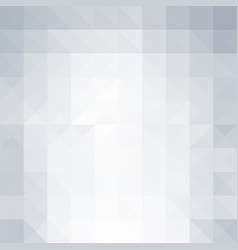 Abstract light background with triangle shapes vector