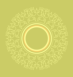 Intricate frame vector