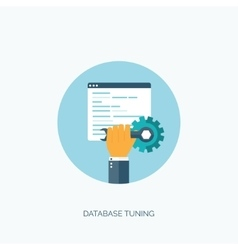 Database flat computing vector