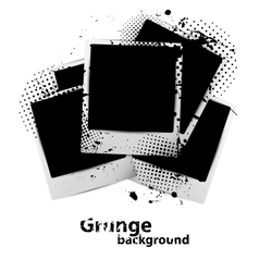 Grunge background vector image vector image