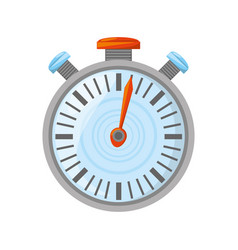 isolated sport chronometer vector image