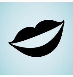 Mouth icon design vector