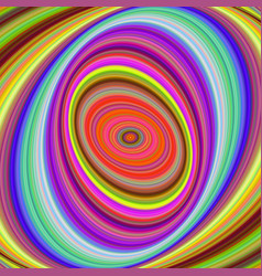 Multicolored elliptical digital fractal background vector
