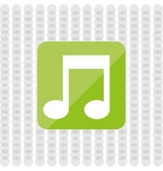 music file design vector image