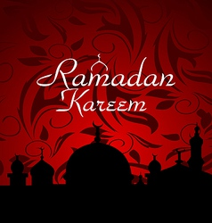 Ramazan celebration background - vector