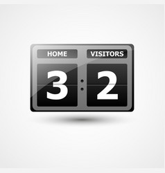 scoreboard icon vector image