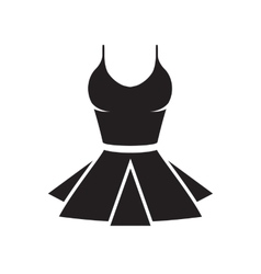 women underwear icon vector image vector image