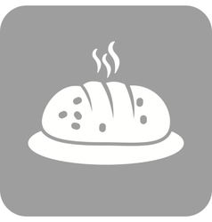 Hot bread vector