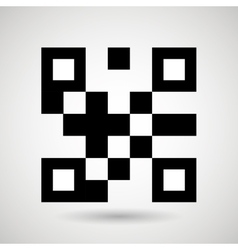 product identification code design vector image