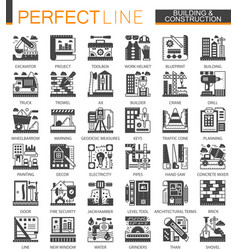 building construction and home repair tools vector image